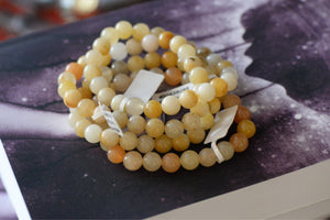 Yellow Jade Bracelet (8mm)