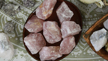 "Load image into Gallery viewer, Rose Quartz (3""-4"")"