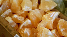 Load image into Gallery viewer, Orange Calcite (Raw)