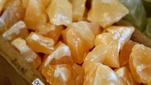 Orange Calcite (Raw)