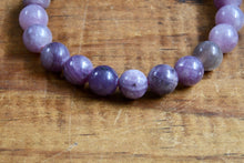 Load image into Gallery viewer, Lepidolite Bracelet (8mm)