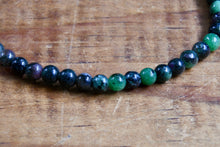 Load image into Gallery viewer, Ruby Zoisite Bracelet (4mm)