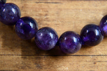 Load image into Gallery viewer, Amethyst Bracelet (8mm)