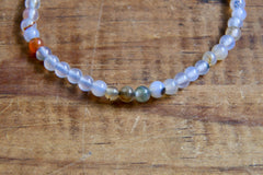 Dendritic Agate Bracelet (4mm)