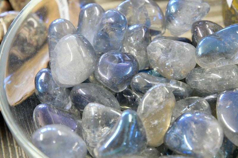 Aqua Aura Quartz (Tumbled)
