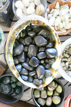 Load image into Gallery viewer, Black Agate (Tumbled)