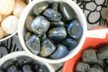 Load image into Gallery viewer, Blue Tiger's Eye (Tumbled)