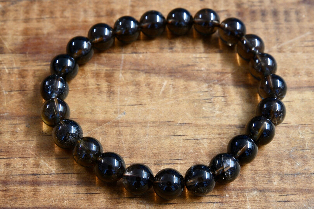 Smoky Quartz Bracelet (8mm)
