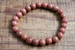 Red Goldstone Bracelet (8mm)