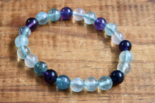 Load image into Gallery viewer, Fluorite Bracelet (8mm)