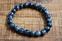 Black Labradorite Bracelet (8mm)