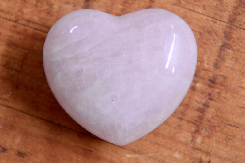 "Rose Quartz Heart (1.5"")"