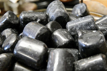 "Load image into Gallery viewer, Black Tourmaline ""A"" Grade (Tumbled)"