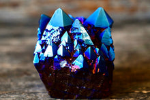 Load image into Gallery viewer, Blue Aura Quartz Cluster