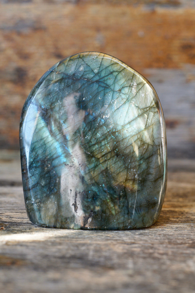 "Labradorite Polished Tower (3.75"")"