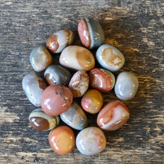 Polychrome Jasper (Tumbled)