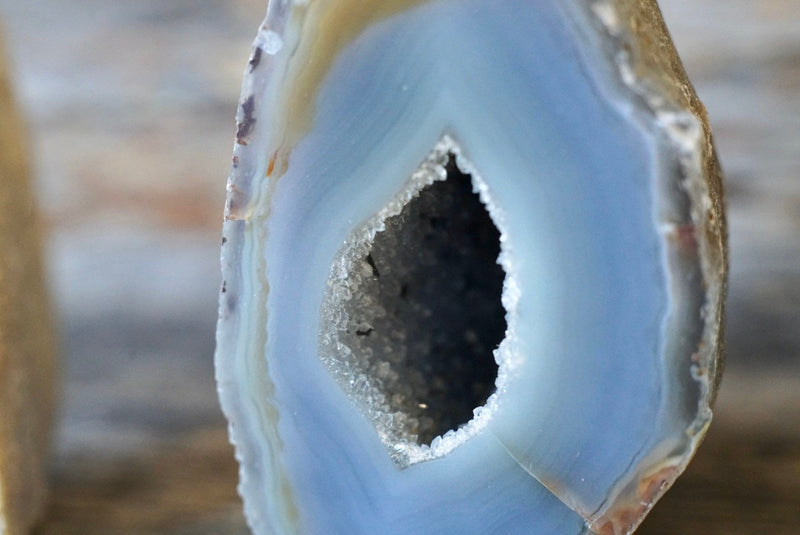 Agate Standing Geode Cluster