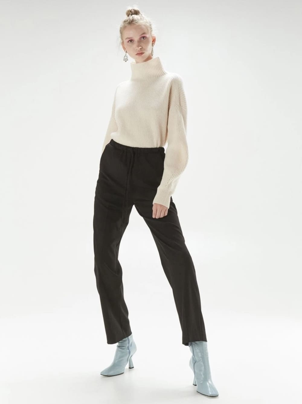 Pantalone Isabelle Blanche