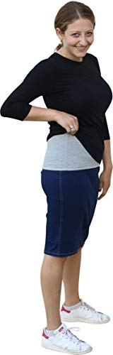 Kosher Casual Womens Modest Hippies Half Cami-Shirt Layering Extension