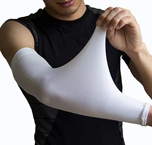 UV Protection Cooling Arm Sleeves 1 Pair Sports Compression Sleeves