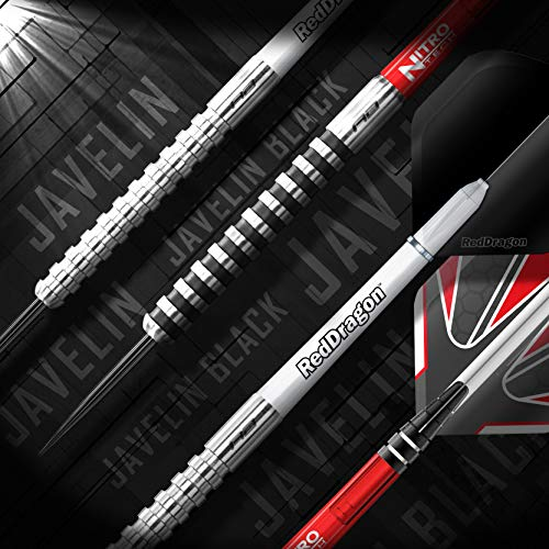 RED DRAGON Javelin Series 22g 24g Tungsten Darts Set with Flights and Stems 20g