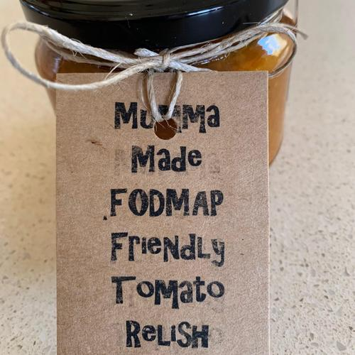 Mumma Made FODMAP Friendly Tomato Relish (300ml)