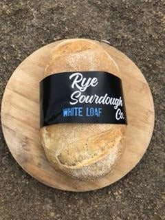 Rye Sourdough Co White Loaf (not available Mon/Tues; no pickups after 2pm)