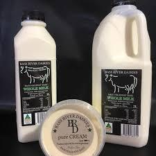 Bass River Dairies full cream milk (2L)