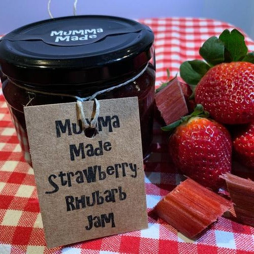 Mumma Made Strawberry Rhubarb Jam (300ml)