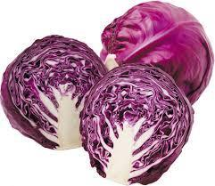 Cabbage - red (quarter)
