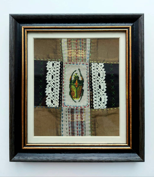 "Skiautinis-,,The beetle""-Vabalas 20x22 cm"