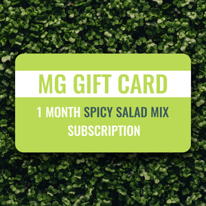 MicroGiants Spicy Salad Mix Gift Card