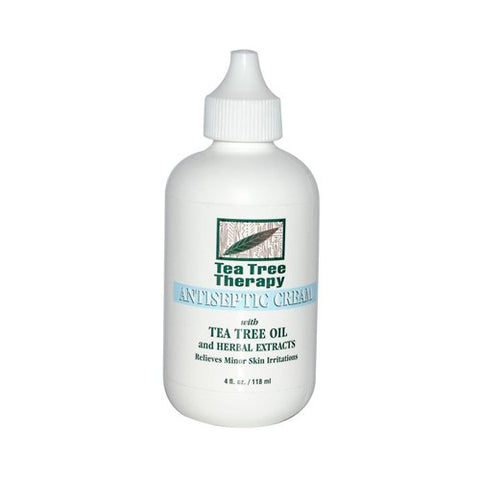 Tea Tree Therapy Pack of 5 x Antiseptic Cream - 4 fl oz