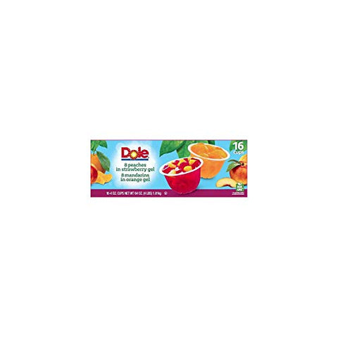 A Product of Dole Fruit in Gel Cups Variety Pack (4.3 oz., 16 pk.)