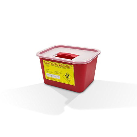 Sharps Container, 1 Gallon, Each