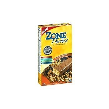 Zone Perfect Bar Chocolate Peanut Butter 12 bars (Pack of 6) [Health and Beauty]