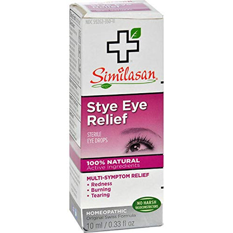 Similasan Stye Eye Relief Eye Drops 10 mL (Pack of 3)