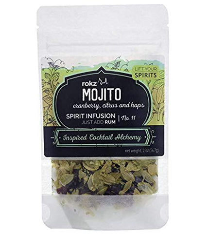 Rokz Mojito Spirit Infusion Blend for Cocktails