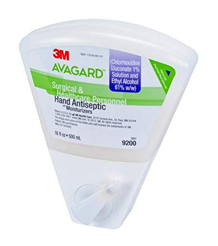 3M Avagard Surgical and Healthcare Personnel Hand Antiseptic W/Moisturizers, 16 fl. oz., 1/Ea, 3M9200