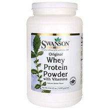 Whey Protein Powder 36.5 oz vanilla flavor (1,035 grams)