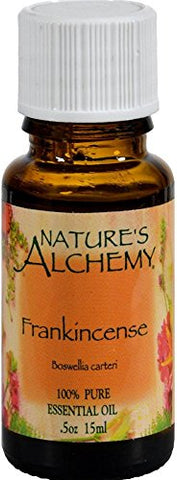 Nature's Alchemy 100% Pure Essential Oil, Frankincense 0.5 oz (Pack of 2)