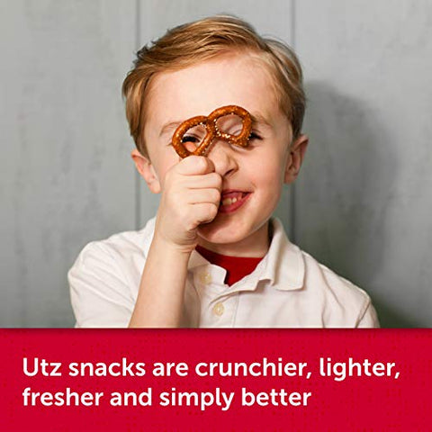Utz Old Fashioned Pretzel Rods  27 oz. Barrel  Thick, Crunchy Pretzel Rod, Perfect for Dipping and Snacks, Zero Cholesterol Snack Food