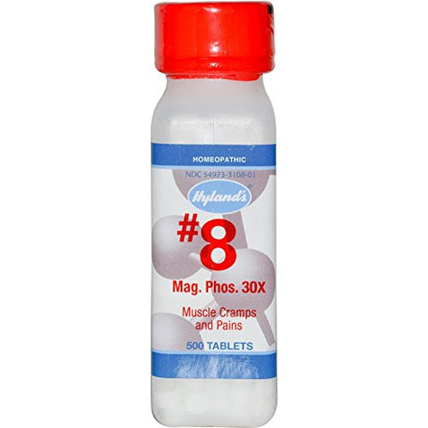 Hylands Homeopathic Mag Phos 30X 500 Tab