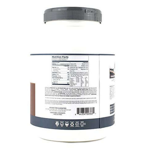 Designer Protein Whey Natural Protein Powder, Gourmet Chocolate, 4 lb, Non GMO, No Artificial Flavors, Sweeteners, Colors, or Preservatives, Made in USA, 64 Ounce