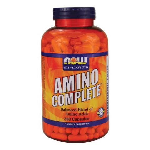 NOW Foods Amino Complete - 360 Capsules