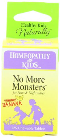 Herbs for Kids No More Monsters, Chewable Tablets, 125-Count (packaging may vary)
