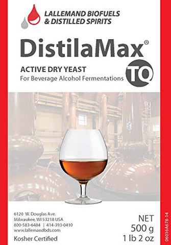 DistilaMax TQ Fructophilic Yeast for Fruit and Agave Fermentation