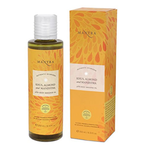 Khus, Almond & Manjistha Pitta Body Massage Oil