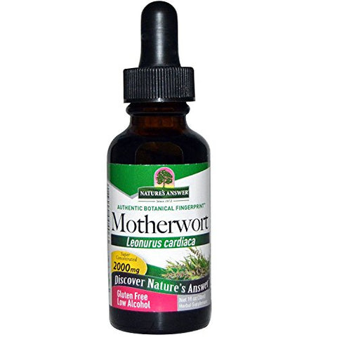 Nature's Answer Motherwort HERB, 1 FZ