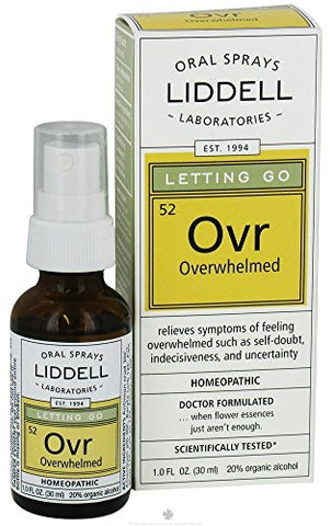 Liddell Laboratories Letting Go, OVERWHELMED, 1 OZ